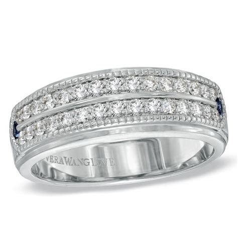 Vera Wang Love Collection Men's 5/8 CT. T.W. Diamond