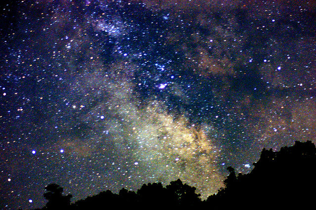 Summer Milky Way Full Frame At 50mm F 1 7 One Untracked