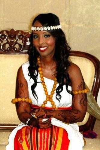 Somali bride