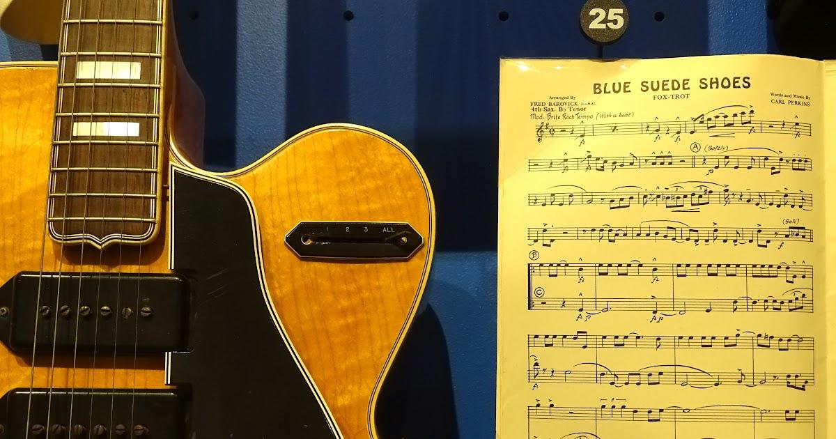 Bruce Springsteen Blue Suede Shoes