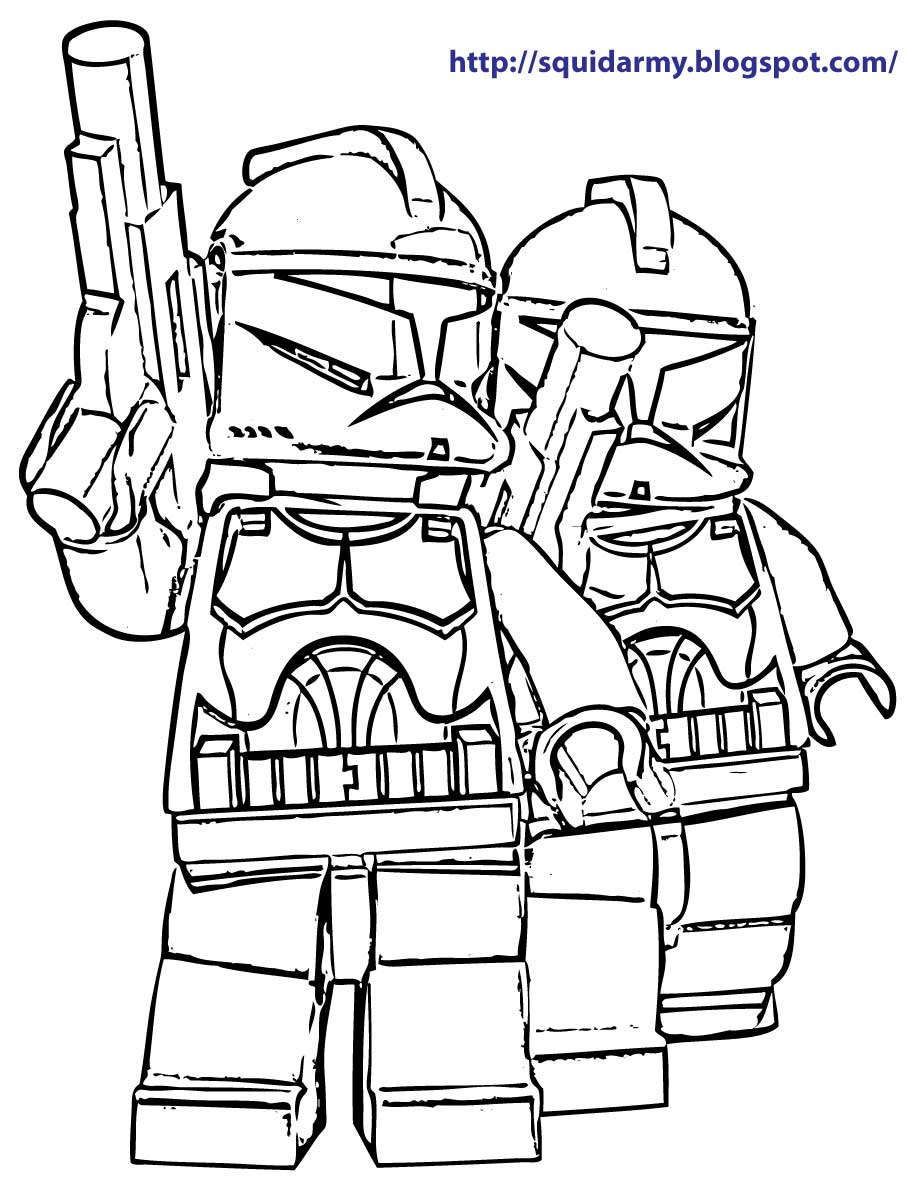 Lego Star Wars coloring pages coloring pages for boys