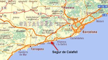 Mapa De Tarragona Pueblos.Mapa Costa Tarragona Mapa