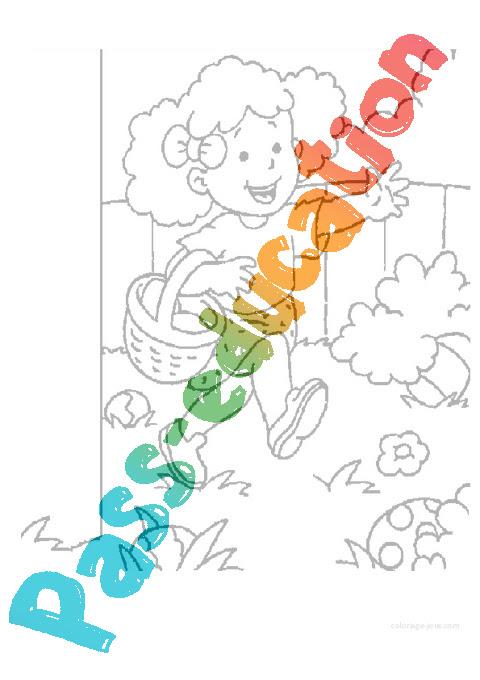 Coloriages Pâques Maternelle Petite Section Ps Vie De La