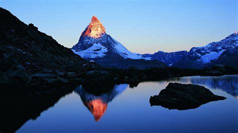 matterhorn mountain switzerland hd desktop wallpaper