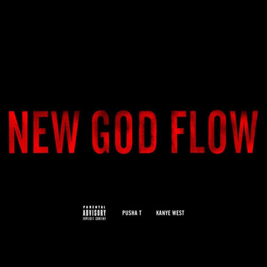 New God Flow (Single Cover), Kanye West