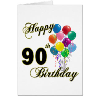 90 Old For Birthday Greeting Year Invitations Photocards Years More Cards