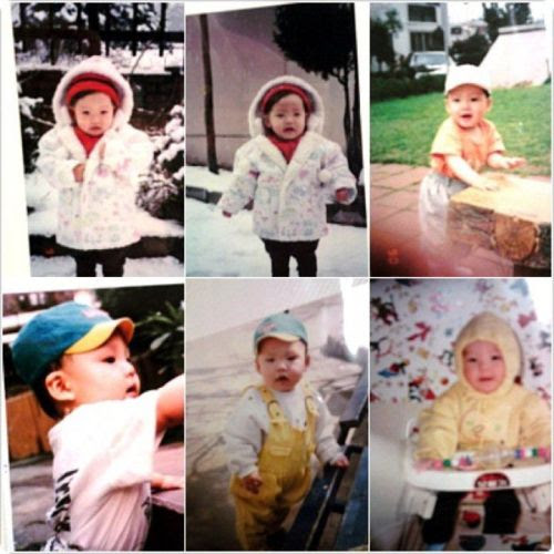 Another picture baby Woobin How cute!!!!  our babies will look good <3