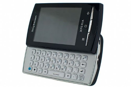 Sony Ericsson XPERIA X10 Mini Pro (U20i) Unlocked GSM Android Smartphone with 5 MP Camera, Bluetooth, Wi-Fi, Touchscreen, QWERTY Keyboard--International Version with No U.S. Warranty (Black)