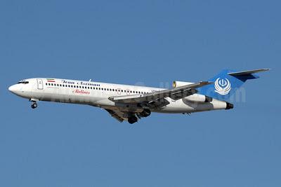 Iran Aseman Airlines Boeing 727-228 EP-ASB (msn 22082) DXB (Paul Denton). Image: 910989.