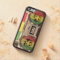 boombox reggae carved® maple iPhone 6 bumper case
