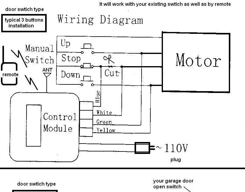Liftmaster 1260lm Wiring Diagram