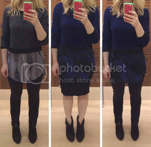 Elie Tahari for Kohls Mock Layer Sweater