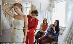 Marriage makes you FAT: Brides gain up to 10lbs within the
