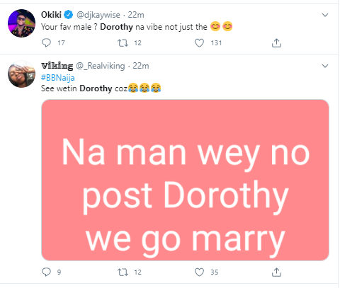 Here is why new Big Brother Naija housemate, Dorathy is trending on Twitter