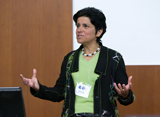 Picture from 2008 Global Health Symposium: Global Health at UW-Madison video