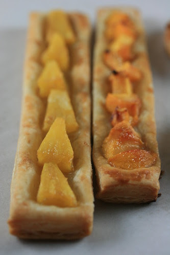 Food Librarian - Parisian Apple, Pineapple and Peach Tartlet