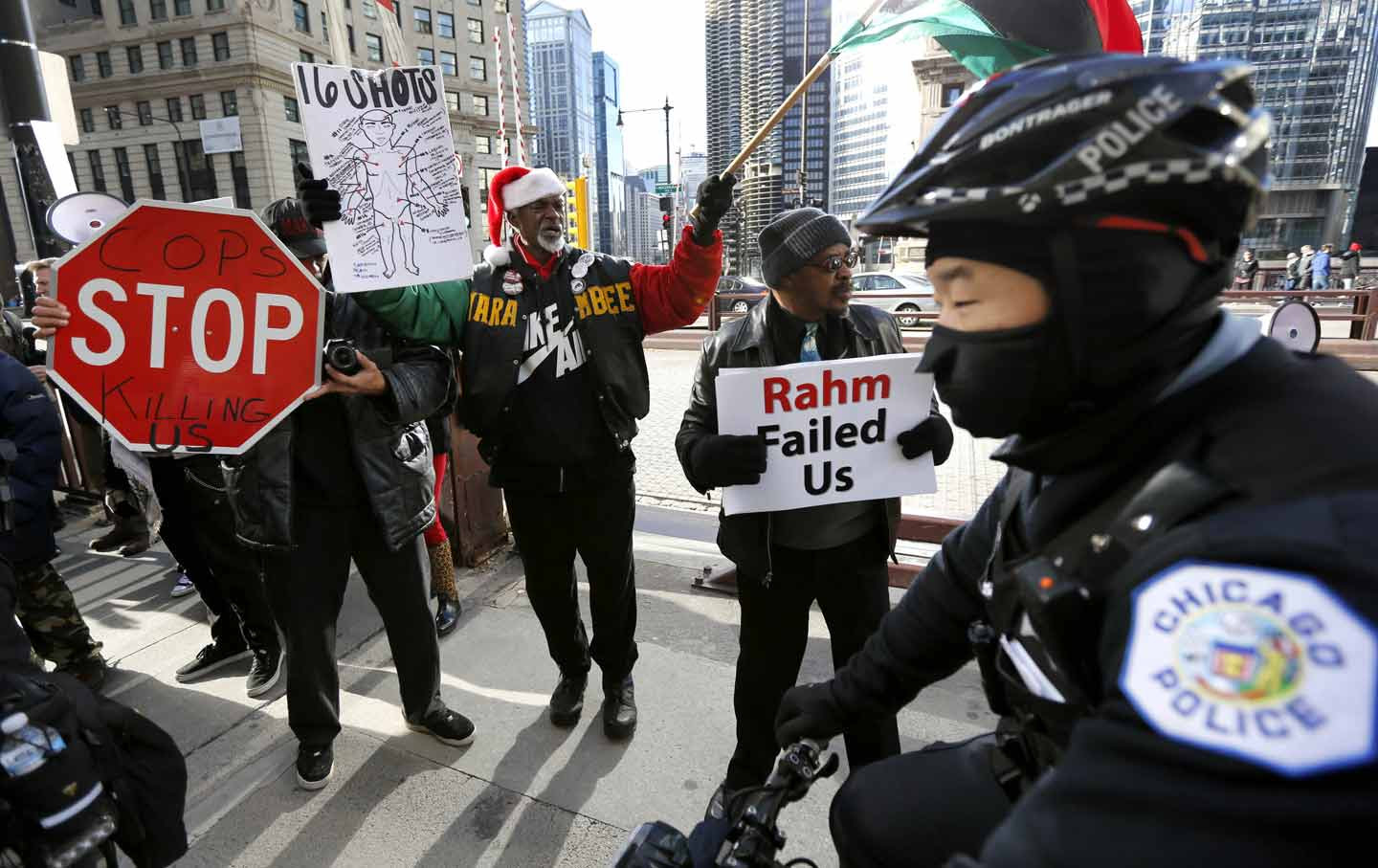 Chicago PD protest