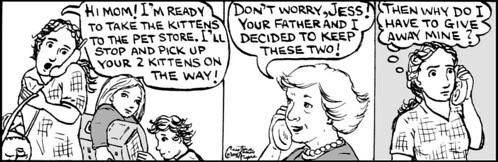 Home Spun comic strip #219