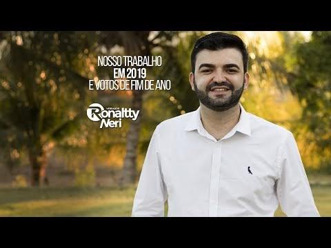 Ronaltty Neri faz retrospectiva do terceiro ano de mandato legislativo e deseja feliz ano novo ao povo jardinense
