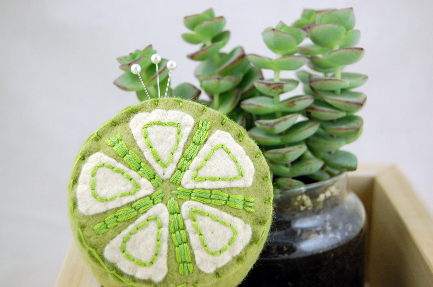 Citrus Lime Pincushion