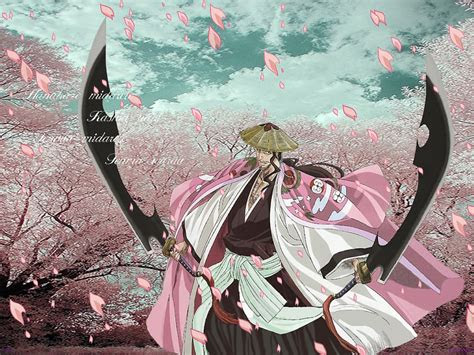 shunsui kyoraku bleach anime wallpaper  fanpop