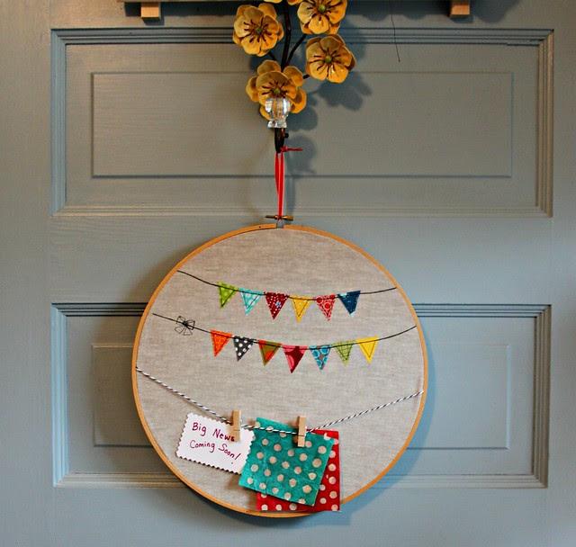 Happy Garland Message Board