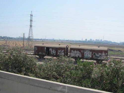 Old railway cars