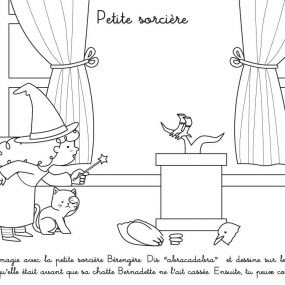 High Quality Images For Coloriage A Imprimer Kiki La Petite Sorci Re