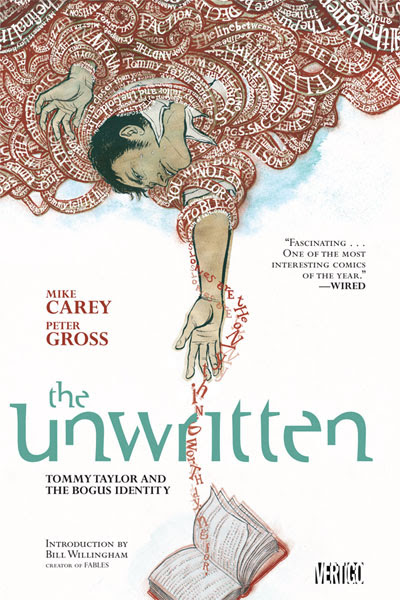 cover for The Unwritten vol 1 by Mike Carry