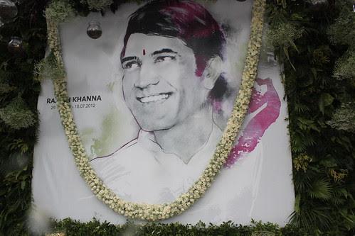 Mr Rajesh Khanna .. First Death Anniversary 18 July 2013 by firoze shakir photographerno1