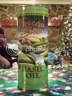 Tuscan Sun Basil Oil