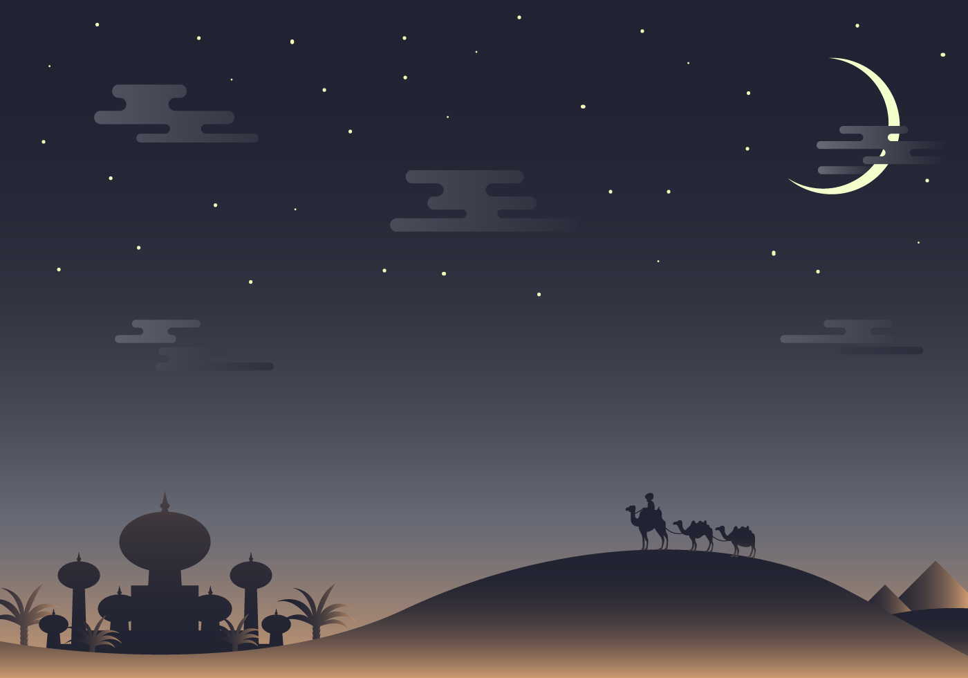 Free Arabian Nights Vector - Download Free Vector Art, Stock Graphics ...