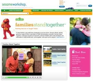 Sesame Street Family Unemployment