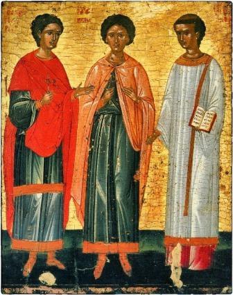 Ἀπὸ τὸ Ἁγιολόγιο τοῦ μηνός: Μάρτυρες καί Ὁμολογητές Γουρίας, Σαμωνᾶς καί Ἄβιβος, 15 Νοεμβρίου