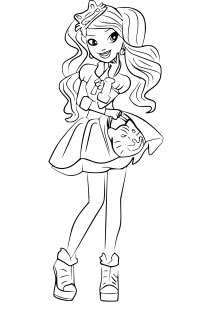 Coloriage A Imprimer Ever After High Coloriage