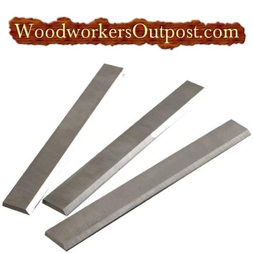 12 1 2 X 3 4 X 1 8 Planer Knives Jet Grizzly Reliant