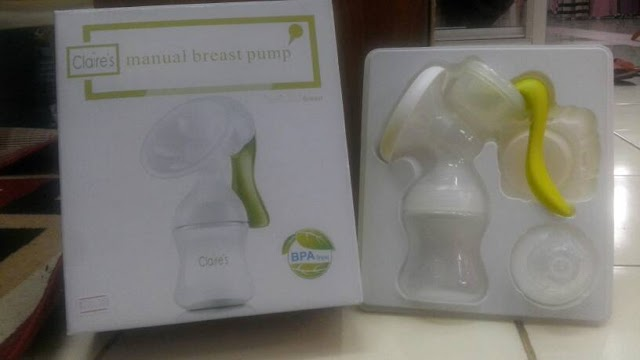 Review Claire's Breastpump