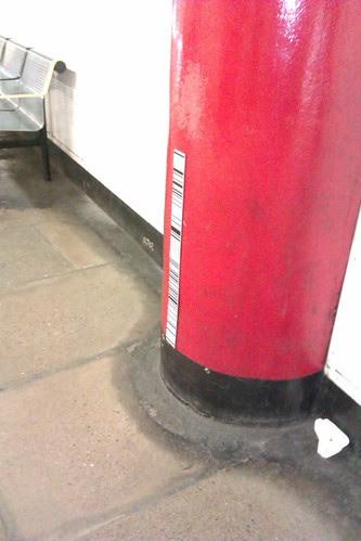 Bar Codes on the Tube Platform