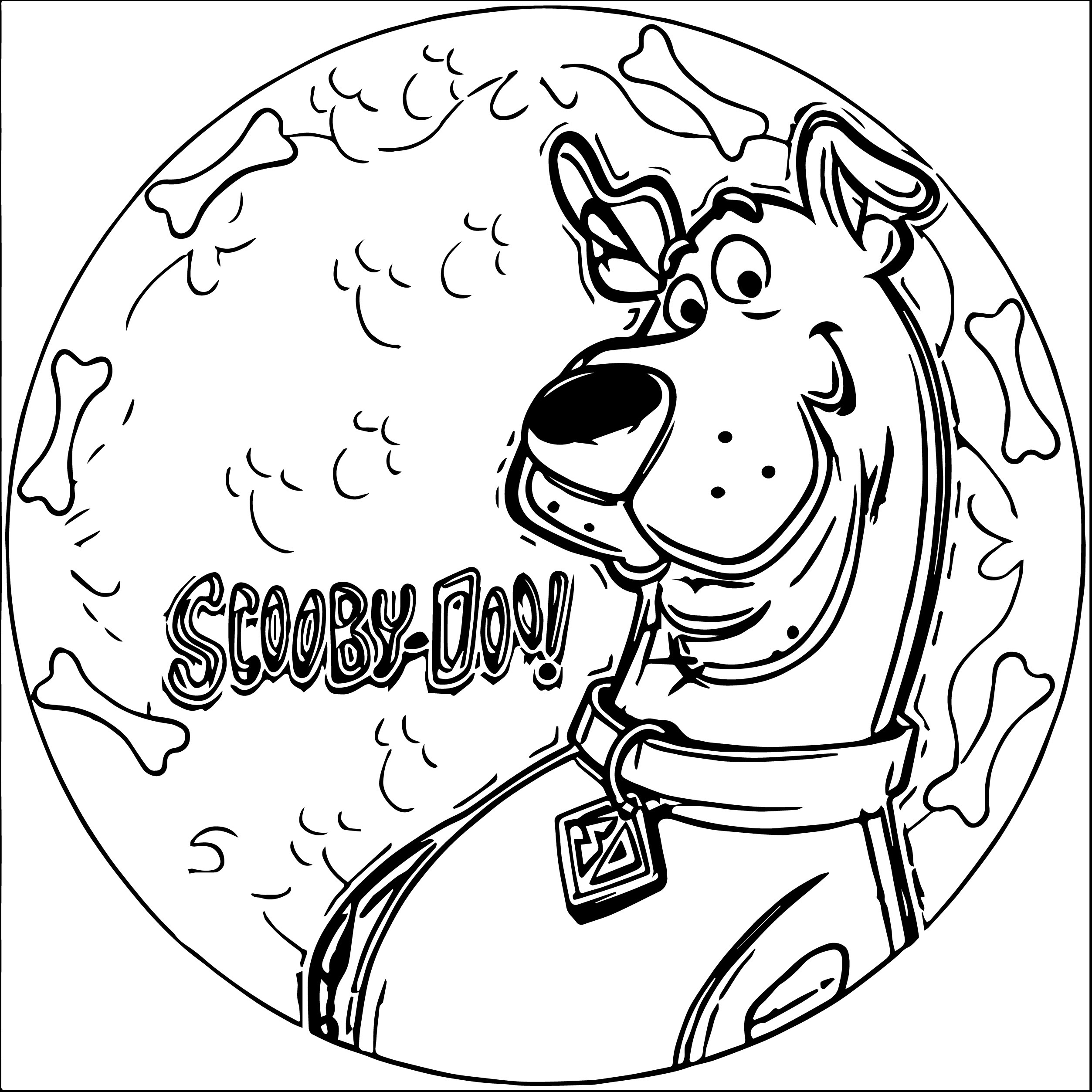 Scooby Doo Drawing Pictures At Getdrawingscom Free For Personal