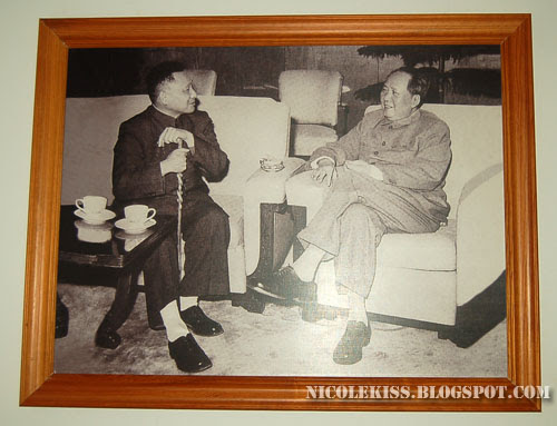 picture of two famous chinese politicians