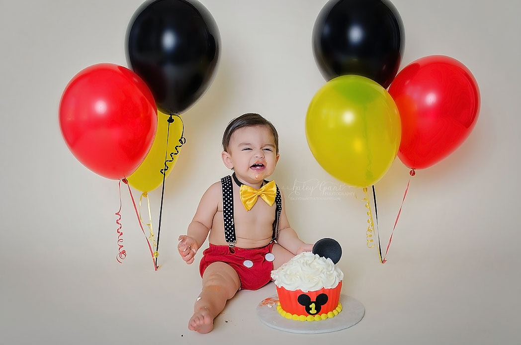 First Birthday Baby Photography Session Austin Texas Baby C One