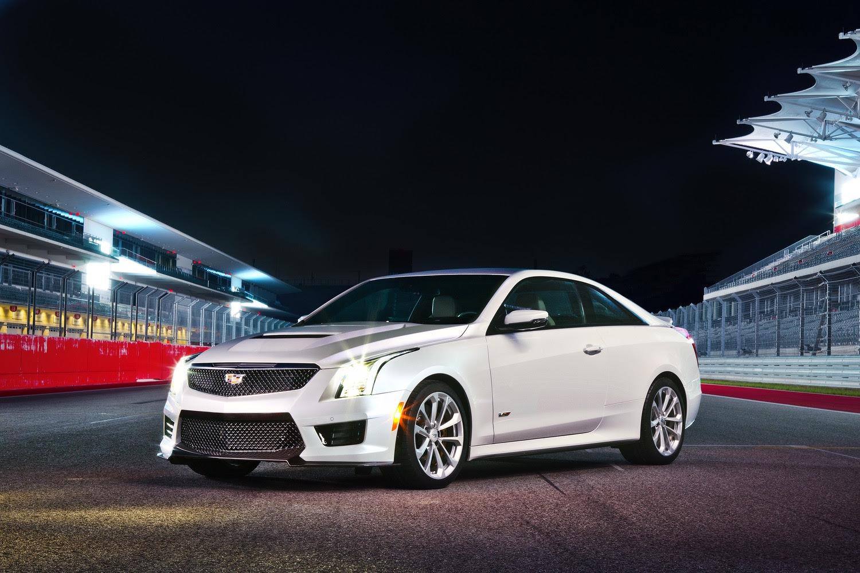 2016 Cadillac ATS-V Sedan Crystal White Frost | GM Authority