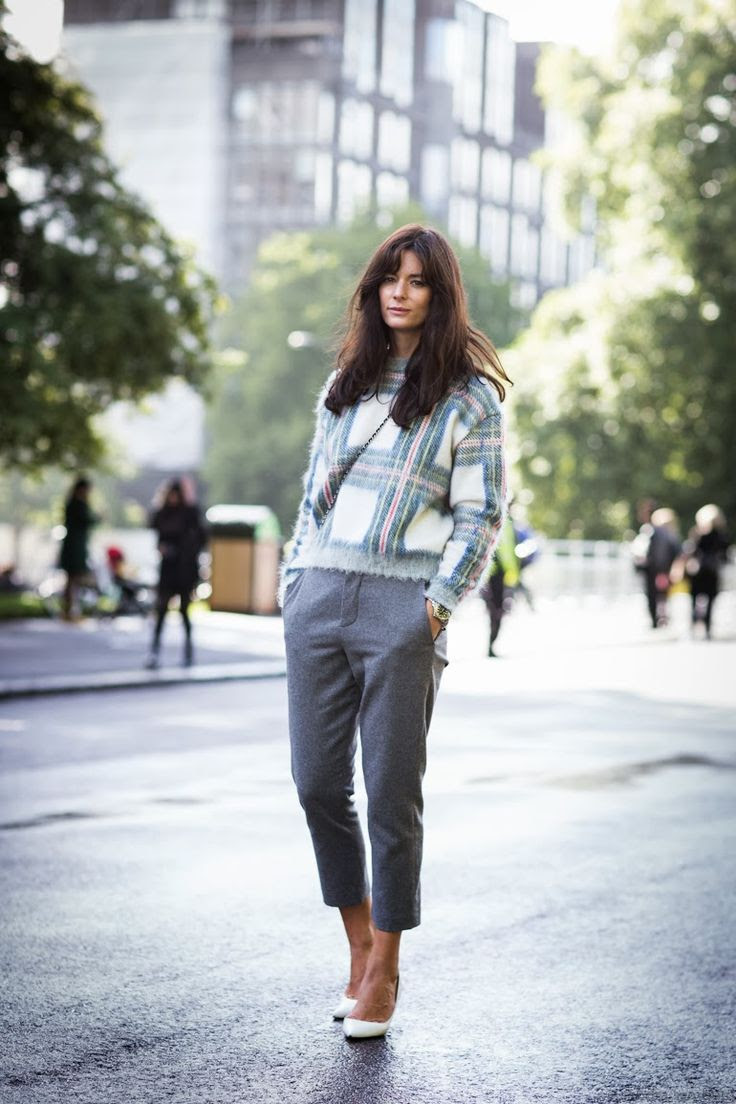 Love! Stella McCartney Tartan Sweater!