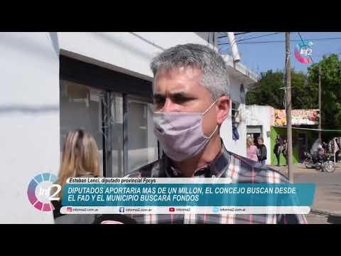 Ricci, concejales y diputados provinciales buscan evitar el remate del Club Olimpico