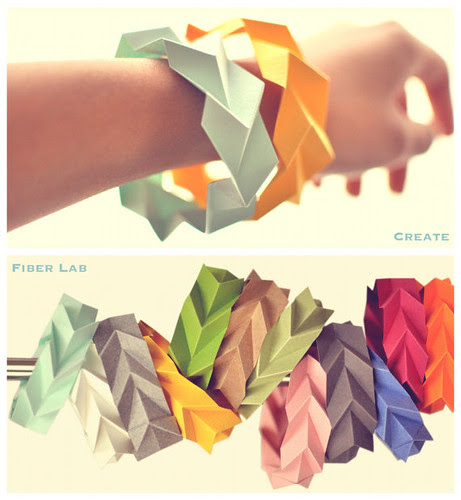 Tessellated Paper Bracelets