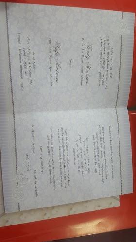 Tulis Undangan Pernikahan