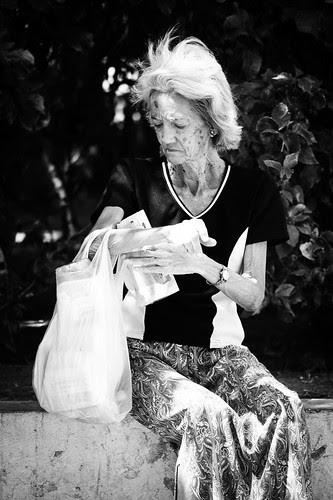 on the street : Bag
