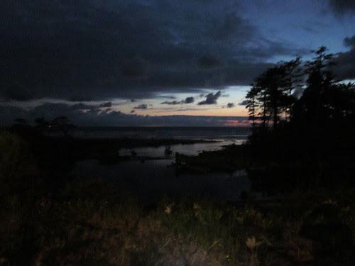 Kalaloch just after sunset, again