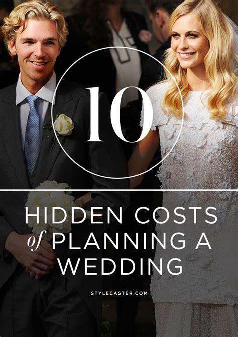 10 Crazy Hidden Costs of Planning a Wedding   StyleCaster