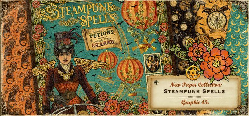 Steampunk Spells Sneak Peek Graphic 45 New